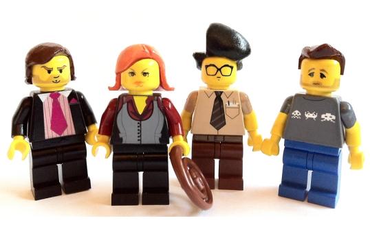 IT CROWD lego minifigs | artbyabc